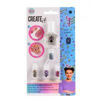 Create It! Nagellak Set met Glitters