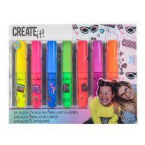 Create It! Lipgloss Set, 7st - Neon
