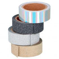 Glitter Tape, 4st.