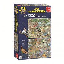 Jan van Haasteren - 2in1 Safari & Storm, 1000st.