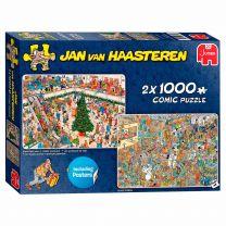 Jan van Haasteren Puzzel - Feestdagen, 2x1000st.