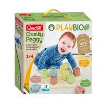Quercetti PlayBio Maxi Insteek Pinnen, 13dlg