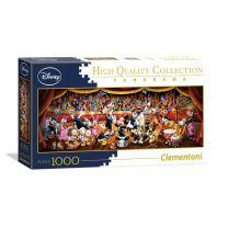 Clementoni Panorama Puzzel Disney Orkest, 1000st.
