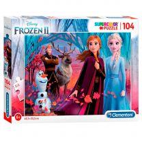 Clementoni Brilliant Puzzel Disney Frozen 2, 104st.