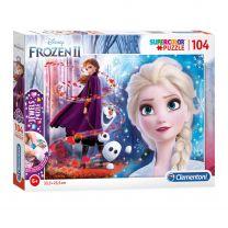 Clementoni Jewels Puzzel Disney Frozen 2, 104st.
