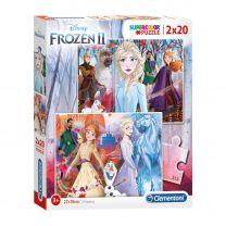 Clementoni Puzzel Disney Frozen 2, 2x20st.
