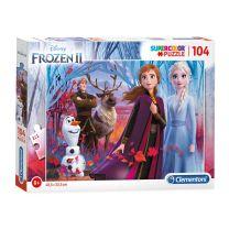 Clementoni Puzzel Disney Frozen 2, 104st.