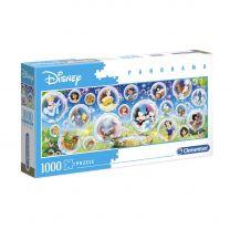 Clementoni Panorama Puzzel Disney Classics, 1000st.