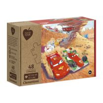 Clementoni Play for Future Puzzel - Cars, 3x48st.