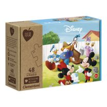 Clementoni Play for Future Puzzel - Mickey Mouse, 3x48st.
