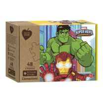 Clementoni Play for Future Puzzel - Superhelden, 3x48st.