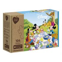 Clementoni Play for Future Puzzel - Mickey Mouse, 104st.