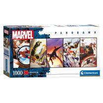 Clementoni Panorama Puzzel Marvel Superhelden, 1000st.