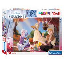 Clementoni Maxi Puzzel Disney Frozen, 104st.