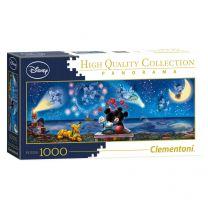 Clementoni Panorama Puzzel Mickey & Minnie, 1000st.
