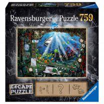 Ravensburger Escape Room Puzzel - De Onderzeeër, 759st.