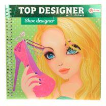 Top Designer Schetsboek - Schoenen met Stickers