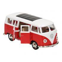 Die-cast Pull Back Volkswagen Bus T1, 1:38