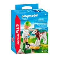 Playmobil 70252 Dierenarts met Kalf