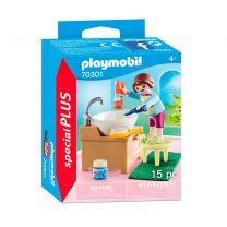 Playmobil 70301 Meisje aan Wastafel