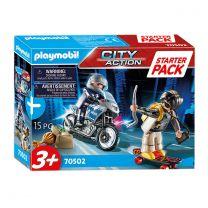 Playmobil 70502 Starterset Politieachtervolging