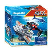 Playmobil 70145 Duikscooter in de Reddingsmissie