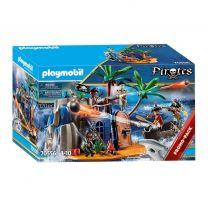Playmobil 70556 Pirateneiland met Schuilplaats voor Schatten