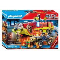 Playmobil 70557 Brandweer met Brandweerwagen