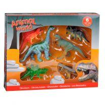 Dinosaurussen Giftbox, 6st.