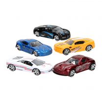 Super Cars Die-cast Auto, 5st.