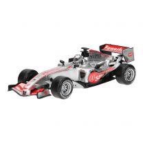 F1 Raceauto met Licht en Geluid - Zilver
