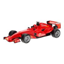 F1 Raceauto met Licht en Geluid - Rood