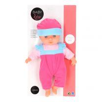 Baby Rose Babypop met Geluiden, 30cm.