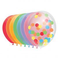 Ballonnen Regenboog, 10st.