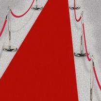 Rode loper, 4,5 meter
