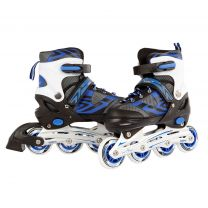 Inline Skates Blauw/Zwart, maat 31-34
