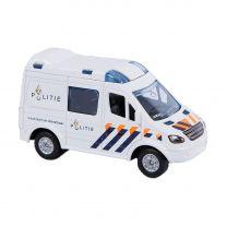 Kids Globe Die-cast Politieauto NL, 8cm