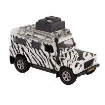Kids Globe Die-cast Land Rover Safari met Licht en Geluid