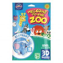 Foam 3D Puzzel Wild Dier