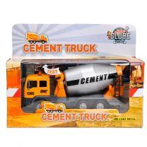 Pull Back Cementwagen met Licht & Geluid