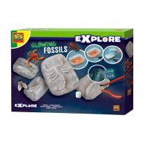 SES Glow in the Dark Fossielen