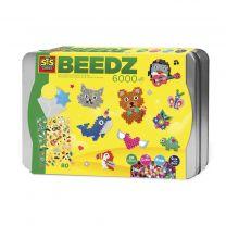 SES Creative Beedz Strijkkralen - Luxe Sorteerbox