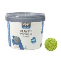Creall Play It Speelzand Geel, 750gr.