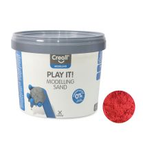 Creall Play It Speelzand Rood, 750gr.