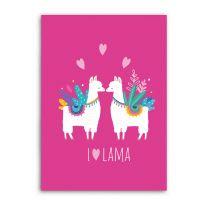 Fleecedeken Lama