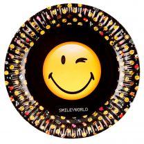 Smiley Emoticons Bordjes, 8st.
