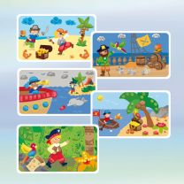 PlayMais Kaarten Versieren Brandweer