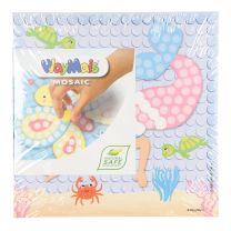 PlayMais Mosaic Kaarten Versieren Dream Zeemeermin