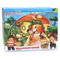 Monchhichi Speelhuis met Accessoires