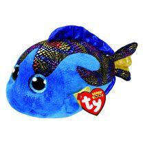 Ty Beanie Buddy Knuffel Vis - Aqua